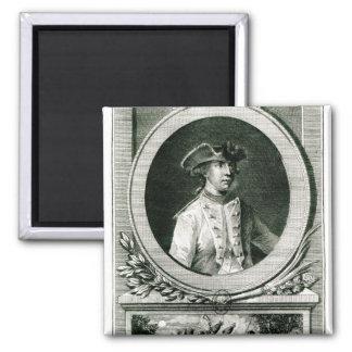 Portrait of Louis, chevalier d'Assas Magnet