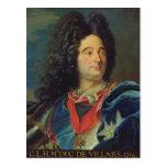 Portrait of Louis-Claude-Hector  Duke of Postcards