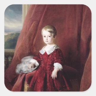 Portrait of Louis d'Orleans, 1845 Stickers