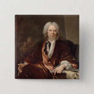 Portrait of Louis Galloche  1734 Button