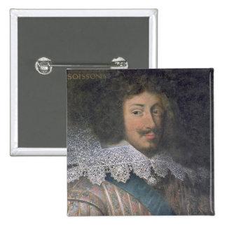 Portrait of Louis of Bourbon  Count of Soissons Button