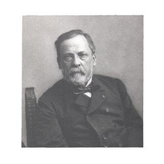 Portrait of Louis Pasteur by Nadar (Date pre-1885) Notepad