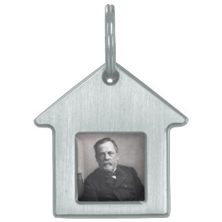 Portrait of Louis Pasteur by Nadar (Date pre-1885) Pet Tag