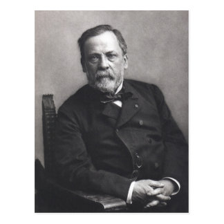 Portrait of Louis Pasteur by Nadar (Date pre-1885) Postcard