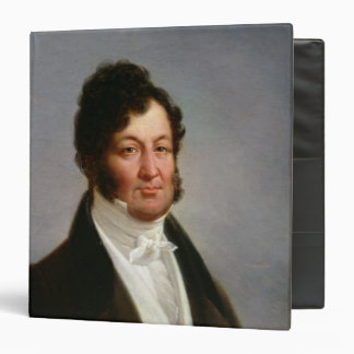 Portrait of Louis-Philippe  King of France 3 Ring Binder