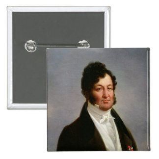 Portrait of Louis-Philippe  King of France 2 Inch Square Button