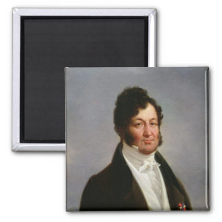 Portrait of Louis-Philippe  King of France 2 Inch Square Magnet