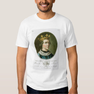 Portrait of Louis VIII, Called 'Le Lion', King of Tee Shirt
