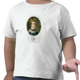 Portrait of Louis VIII, Called 'Le Lion', King of T Shirts