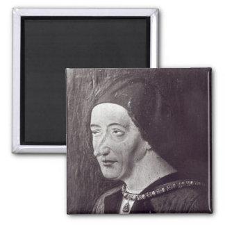 Portrait of Louis XI  1482 Magnet