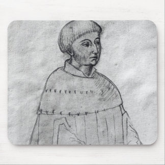 Portrait of Louis XI Mouse Pad