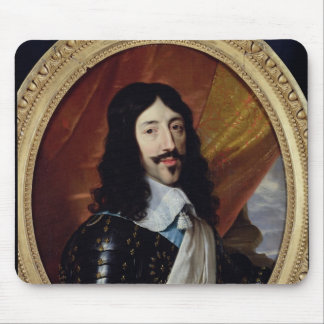 Portrait of Louis XIII  after 1610 Mouse Pad