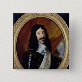 Portrait of Louis XIII  after 1610 Pinback Button