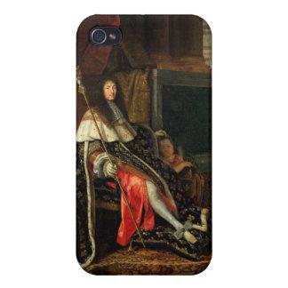 Portrait of Louis XIV  1668 iPhone 4 Covers