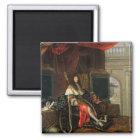 Portrait of Louis XIV  1668 Magnet