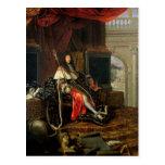 Portrait of Louis XIV  1668 Postcards