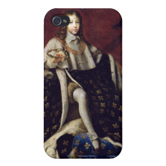 Portrait of Louis XIV  aged 10, 1648 Covers For iPhone 4