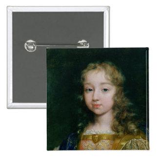 Portrait of Louis XIV as a child Button