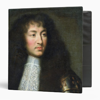 Portrait of Louis XIV 3 Ring Binder