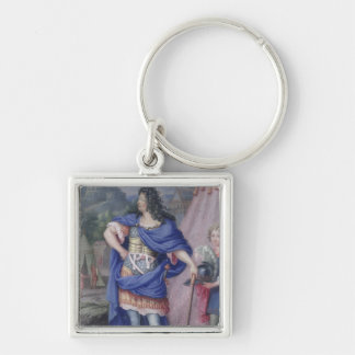 Portrait of Louis XIV  King of France Keychain