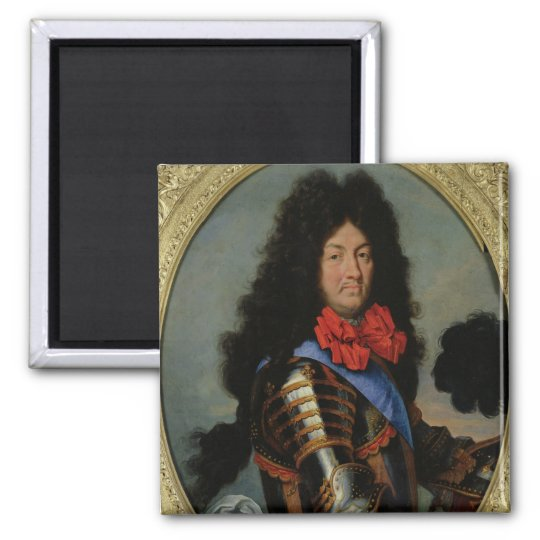 Portrait of Louis XIV Magnet