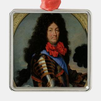 Portrait of Louis XIV Metal Ornament