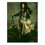 Portrait of Louis XIV Post Cards