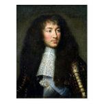 Portrait of Louis XIV Postcard