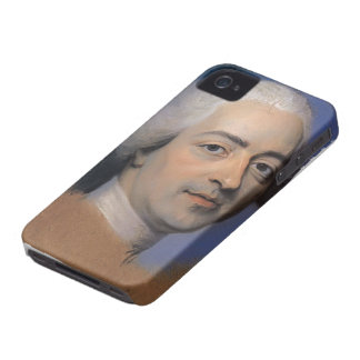 Portrait of Louis XV,France by Maurice de La Tour iPhone 4 Covers