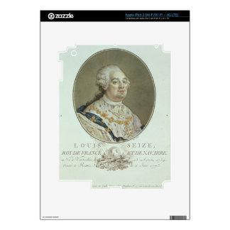Portrait of Louis XVI (1754-93) from 'Portraits de iPad 3 Decals