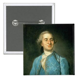 Portrait of Louis XVI  1775 2 Inch Square Button