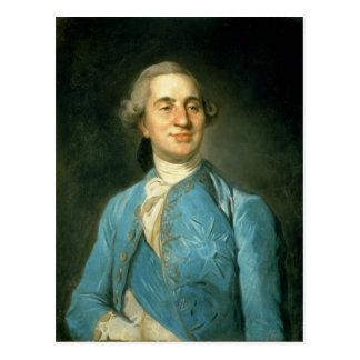 Portrait of Louis XVI  1775 Postcard
