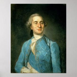 Portrait of Louis XVI  1775 Poster