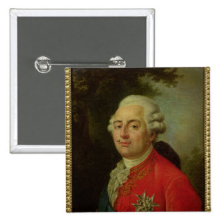Portrait of Louis XVI  King of France 2 Inch Square Button
