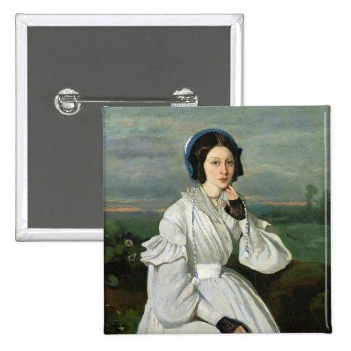 Portrait of Louise Claire Sennegon Button