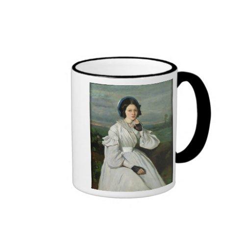 Portrait of Louise Claire Sennegon Mugs