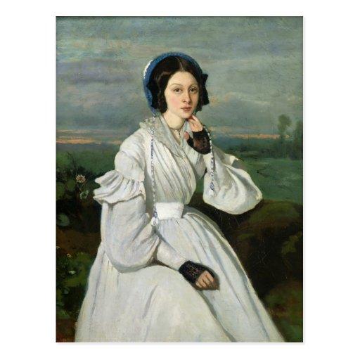 Portrait of Louise Claire Sennegon Postcards