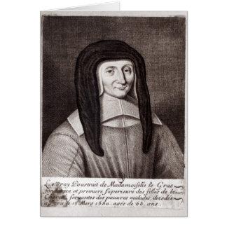 Portrait of Louise de Marillac Card
