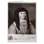 Portrait of Louise de Marillac Greeting Card