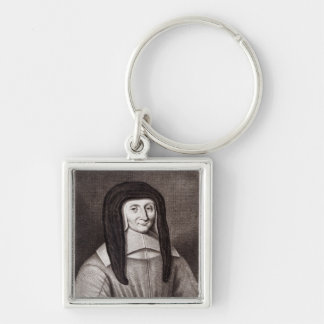 Portrait of Louise de Marillac Key Chains