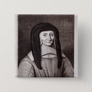 Portrait of Louise de Marillac Pinback Button