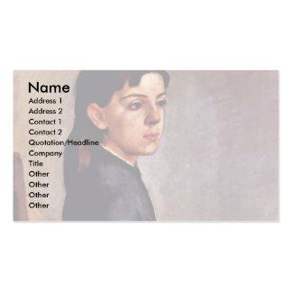 Portrait Of Louise-Delphine Duchosal Business Cards