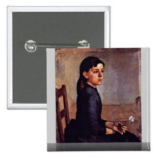 Portrait Of Louise-Delphine Duchosal Pins
