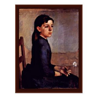 Portrait Of Louise-Delphine Duchosal Postcard
