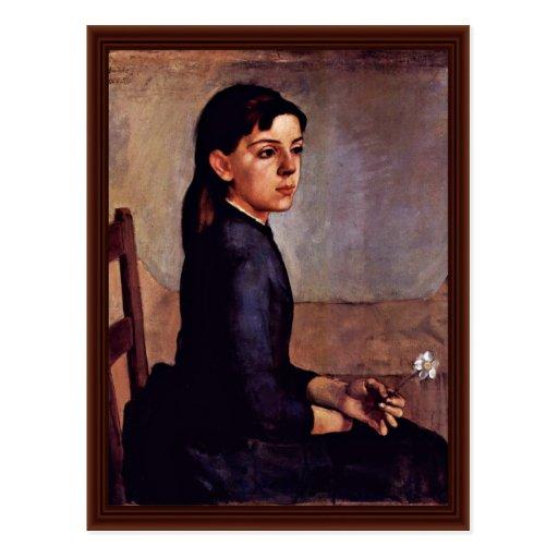 Portrait Of Louise-Delphine Duchosal Post Card