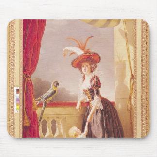 Portrait of Louise-Elisabeth de France and her Mousepad