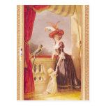 Portrait of Louise-Elisabeth de France and her Post Card