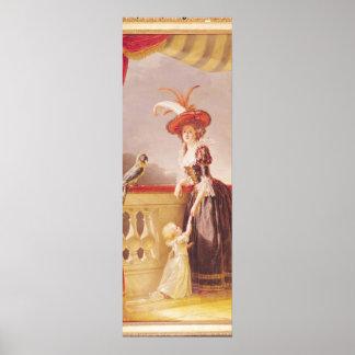 Portrait of Louise-Elisabeth de France and her Poster
