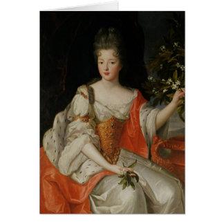 Portrait of Louise-Francoise de Bourbon Card