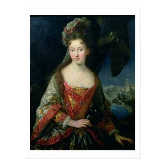 Portrait of Louise-Hippolyte (1687-1731), Princess Postcard